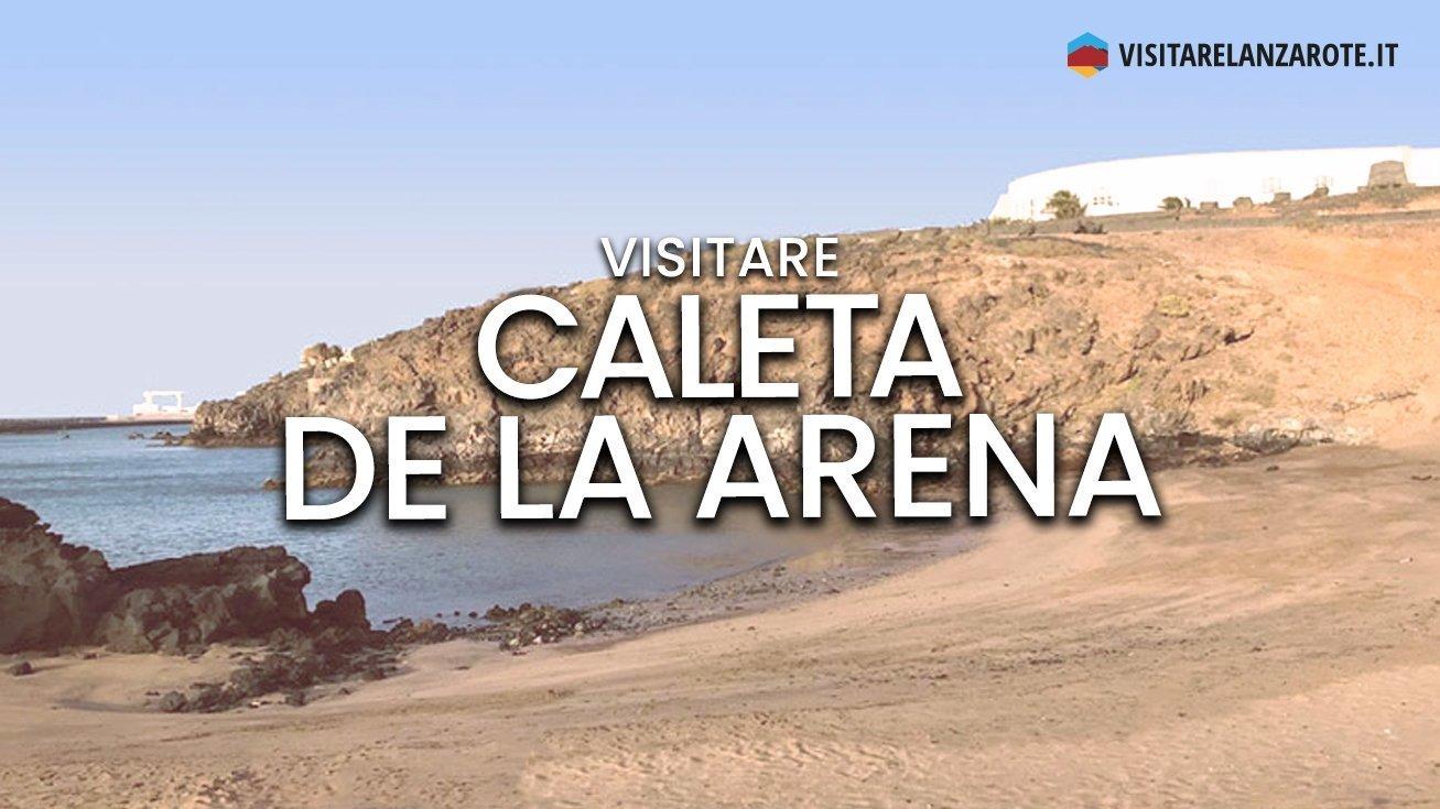 Caleta de La Arena, Arrecife | Spiaggia dell'isola di Lanzarote
