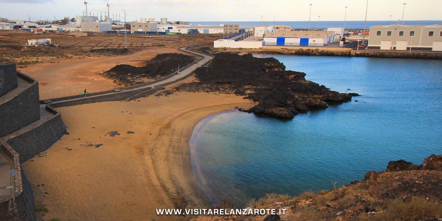 Caleta de La Arena Lanzarote
