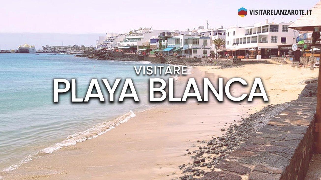 Playa Blanca Beach, Yaiza | Spiaggia dell'isola di Lanzarote