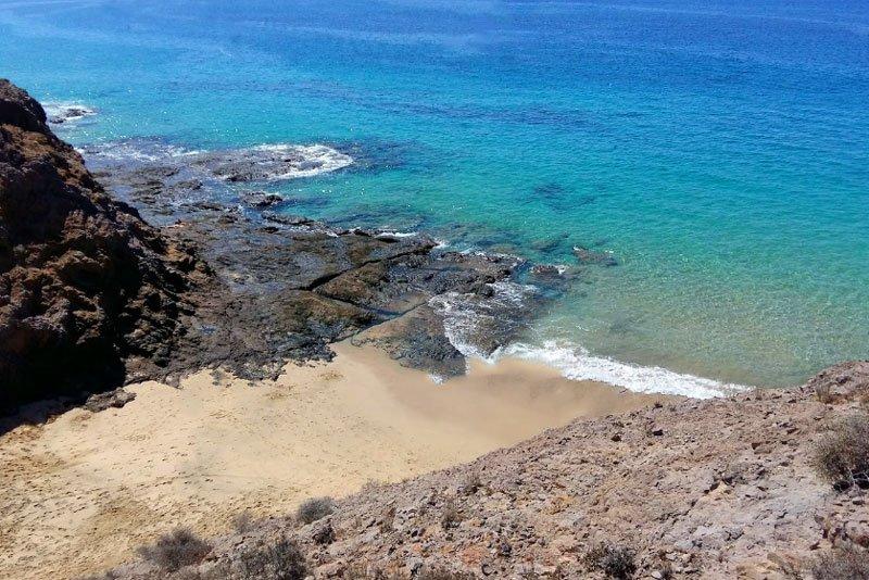 Playa Caletón San Marcial Lanzarote