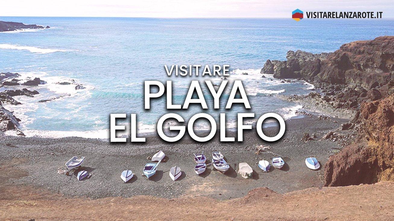 Playa El Golfo, Charco de los Clicos, Yaiza | Spiaggia di Lanzarote