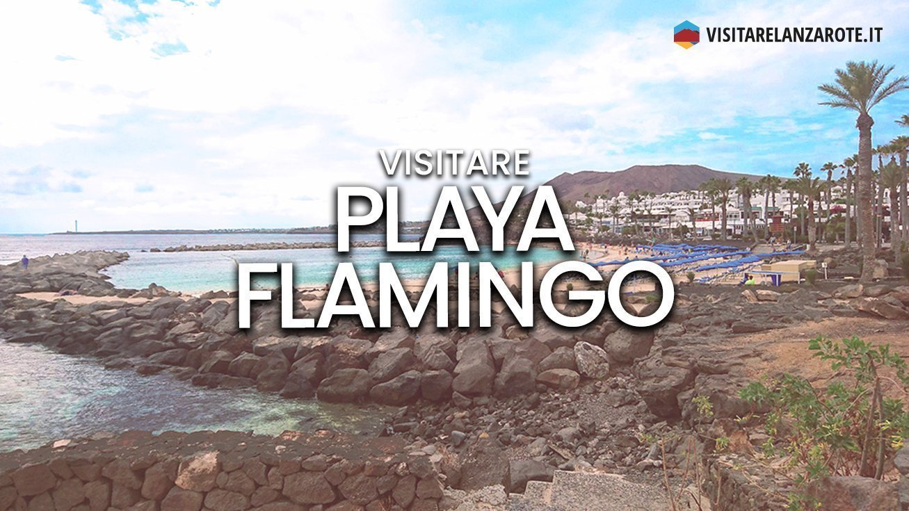 Playa Flamingo, Yaiza | Spiaggia sabbiosa dell'isola di Lanzarote