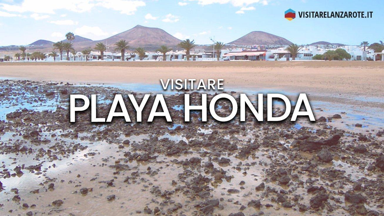 Playa Honda, la spiaggia principale di San Bartolomè