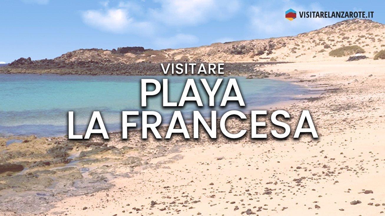 Playa La Francesa, Lanzarote | Spiaggia dell'isola La Graciosa