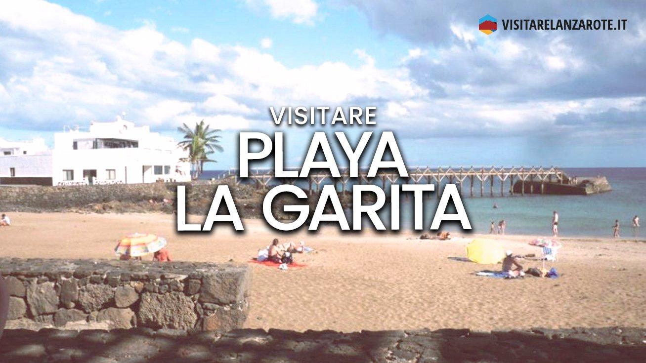 Playa La Garita, Municipio di Haría | Spiaggia dell'isola di Lanzarote