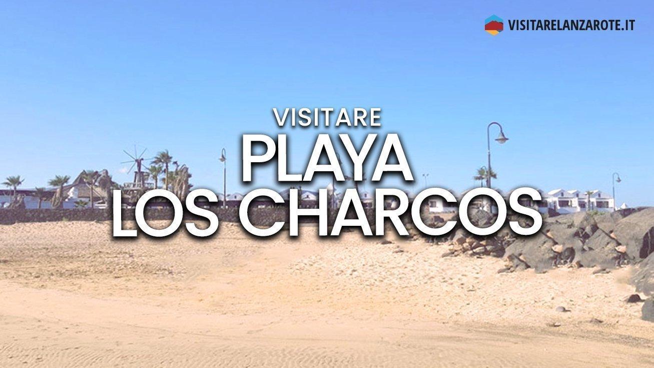 Playa Los Charcos, Costa Teguise | Spiaggia dell'isola di Lanzarote