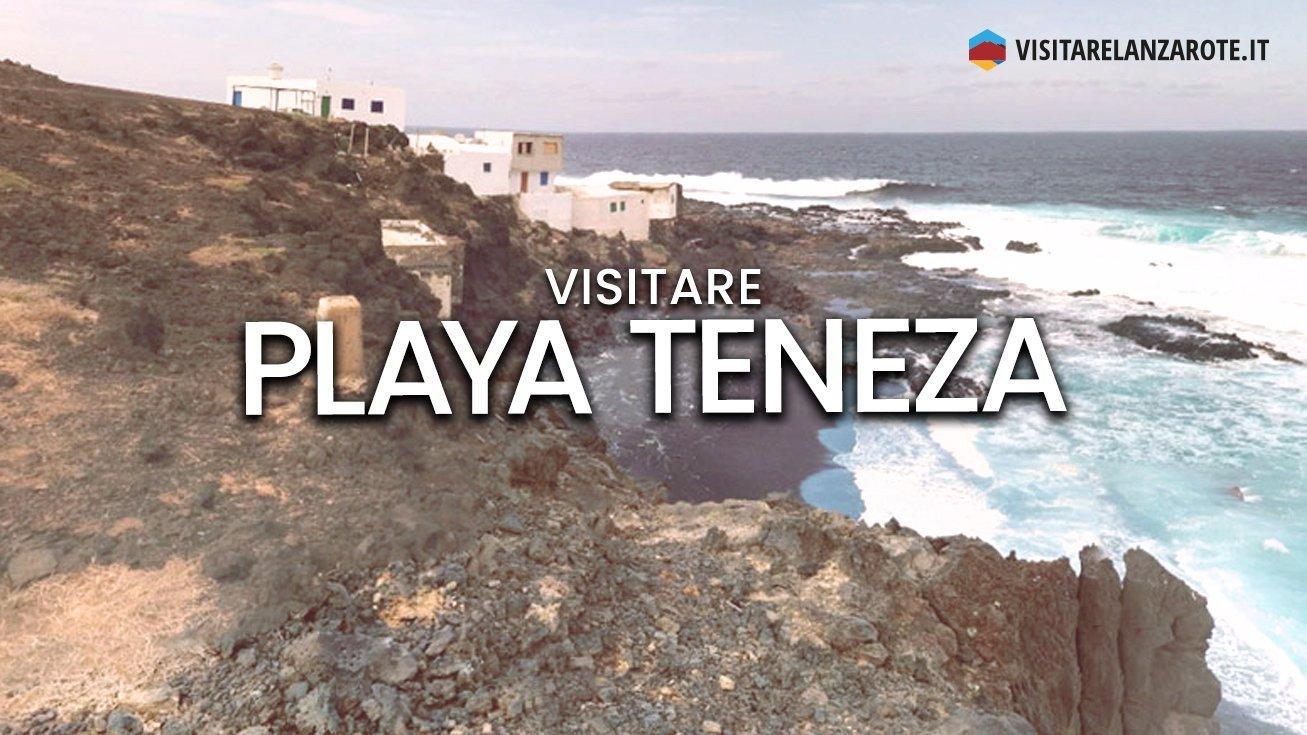 Playa Teneza, Tinajo | Spiaggia nera dell'isola di Lanzarote