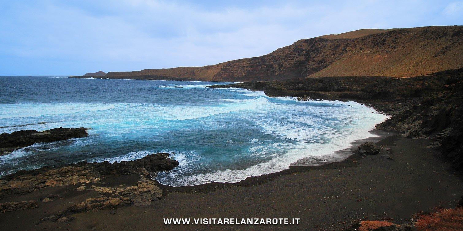 Playa Teneza lanzarote