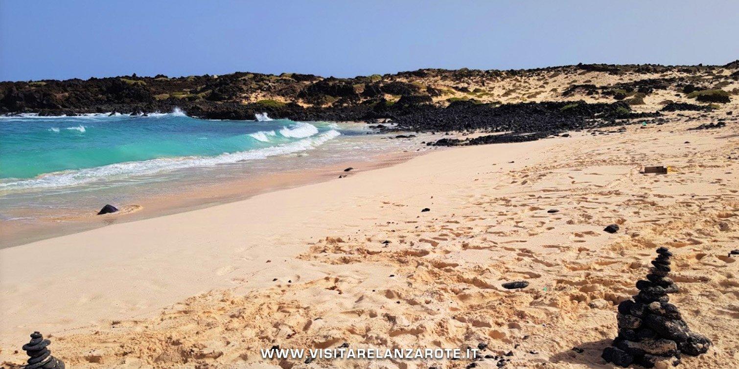 Playa de Caleta del Mero lanzarote