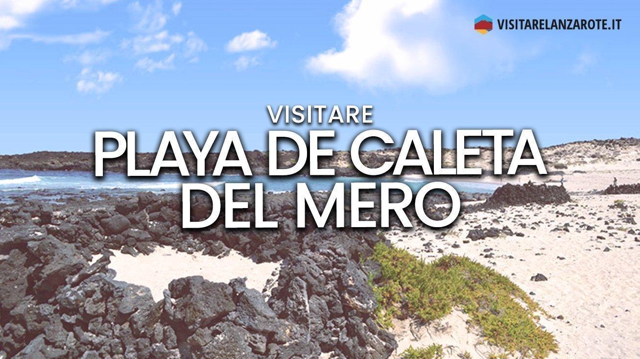 Playa de Caleta del Mero, Haría | Spiaggia dell'isola di Lanzarote