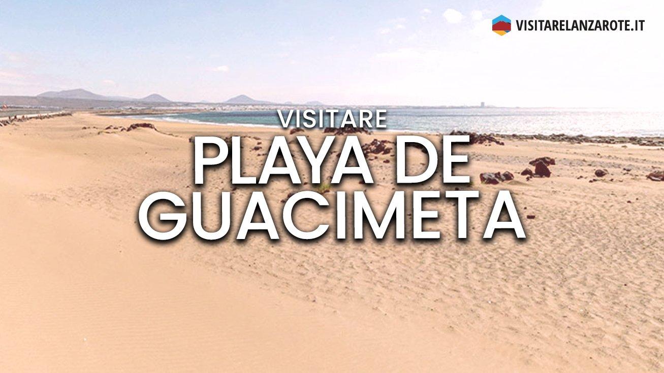 Playa de Guacimeta, San Bartolomé | Spiaggia dell'isola di Lanzarote