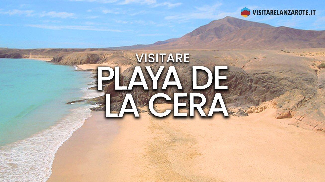 Playa de La Cera, Papagayo, Yaiza | Spiaggia dell'isola di Lanzarote