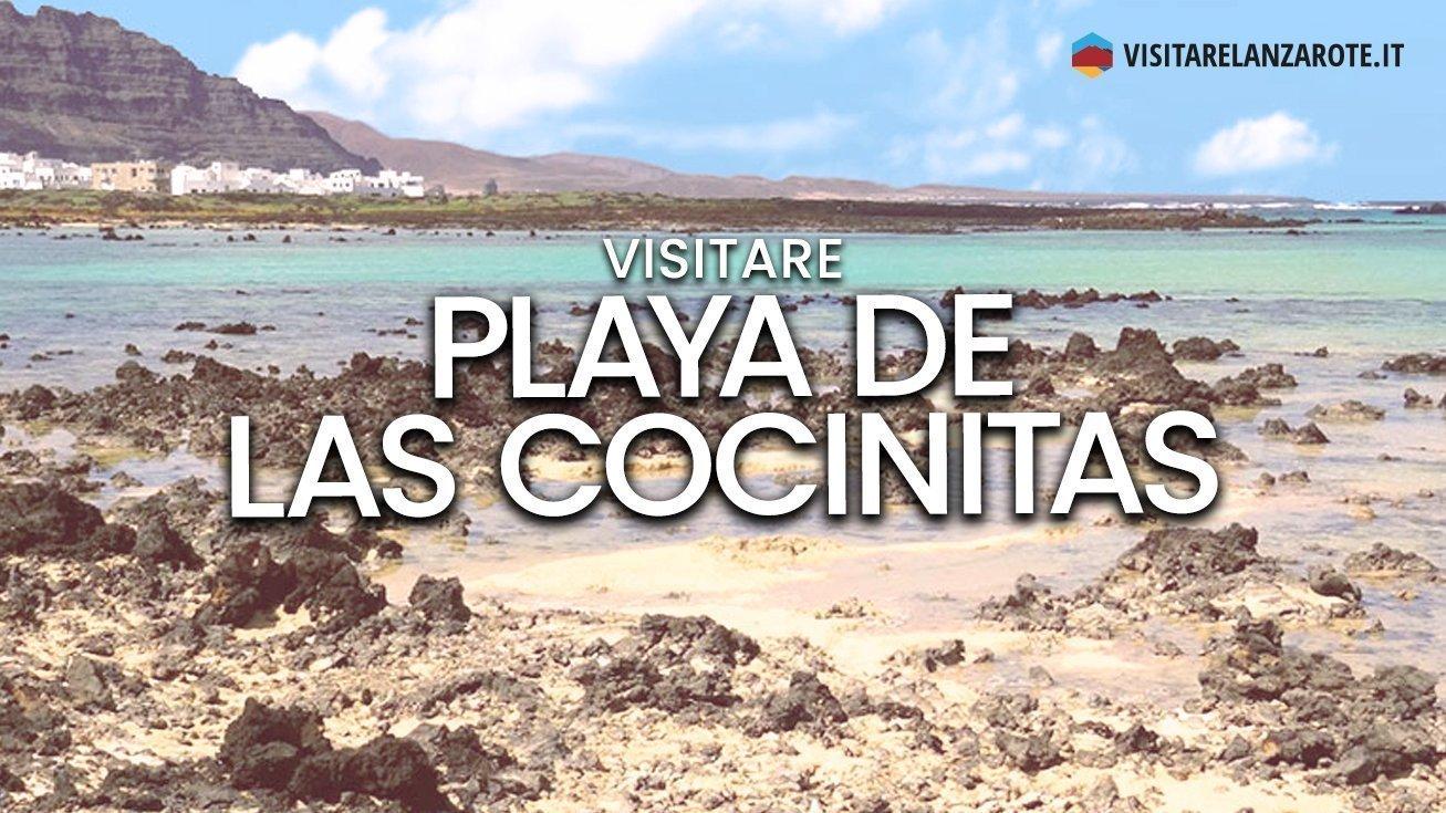 Playa de Las Cocinitas, Haría   Spiaggia dell'isola di Lanzarote