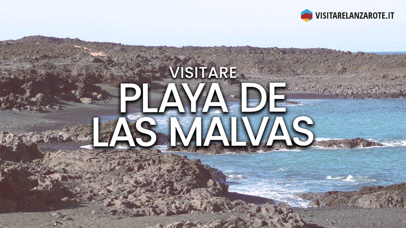 Playa de Las Malvas, Tinajo | Spiaggia dell'isola di Lanzarote