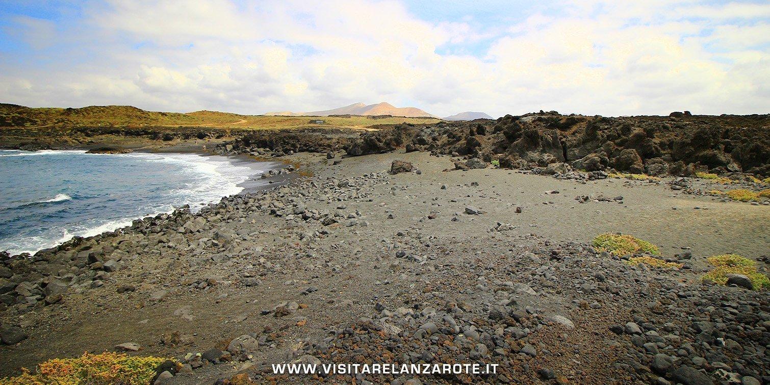 Playa de Las Malvas lanzarote