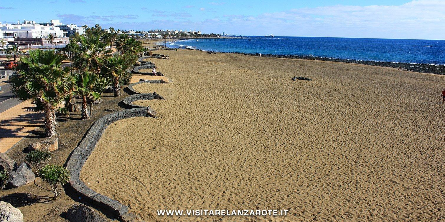 Playa de Los Pocillos Lanzarote