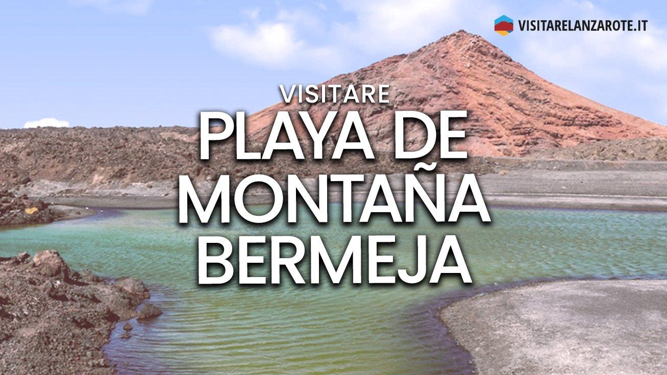 Playa de Montaña Bermeja, Yaiza | Spiaggia dell'isola di Lanzarote