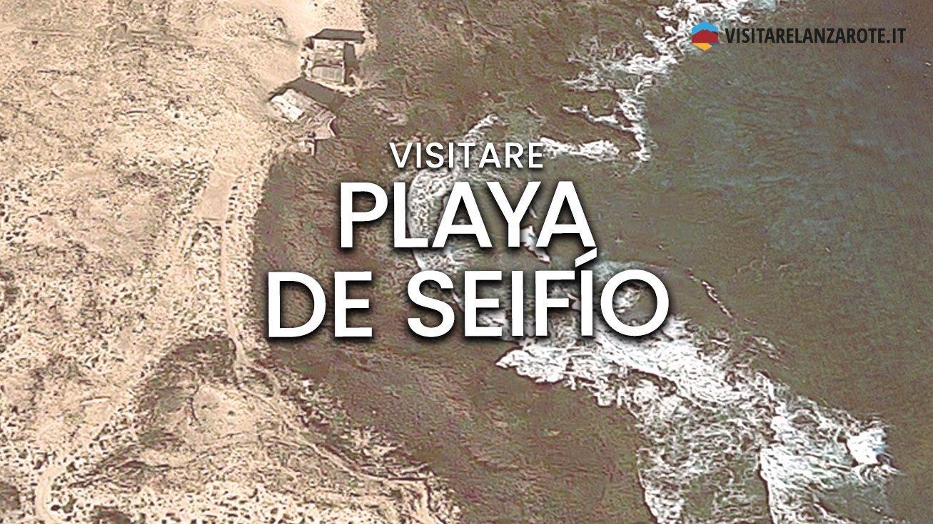 Playa de Seifío, Mala, Haría   Spiaggia dell'Isola di Lanzarote
