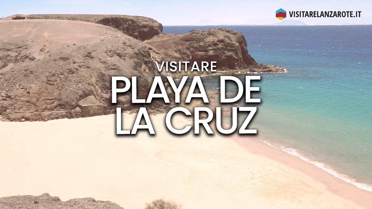 Playa de la Cruz (Pozo), Papagayo, Yaiza | Spiaggia dell'isola di Lanzarote