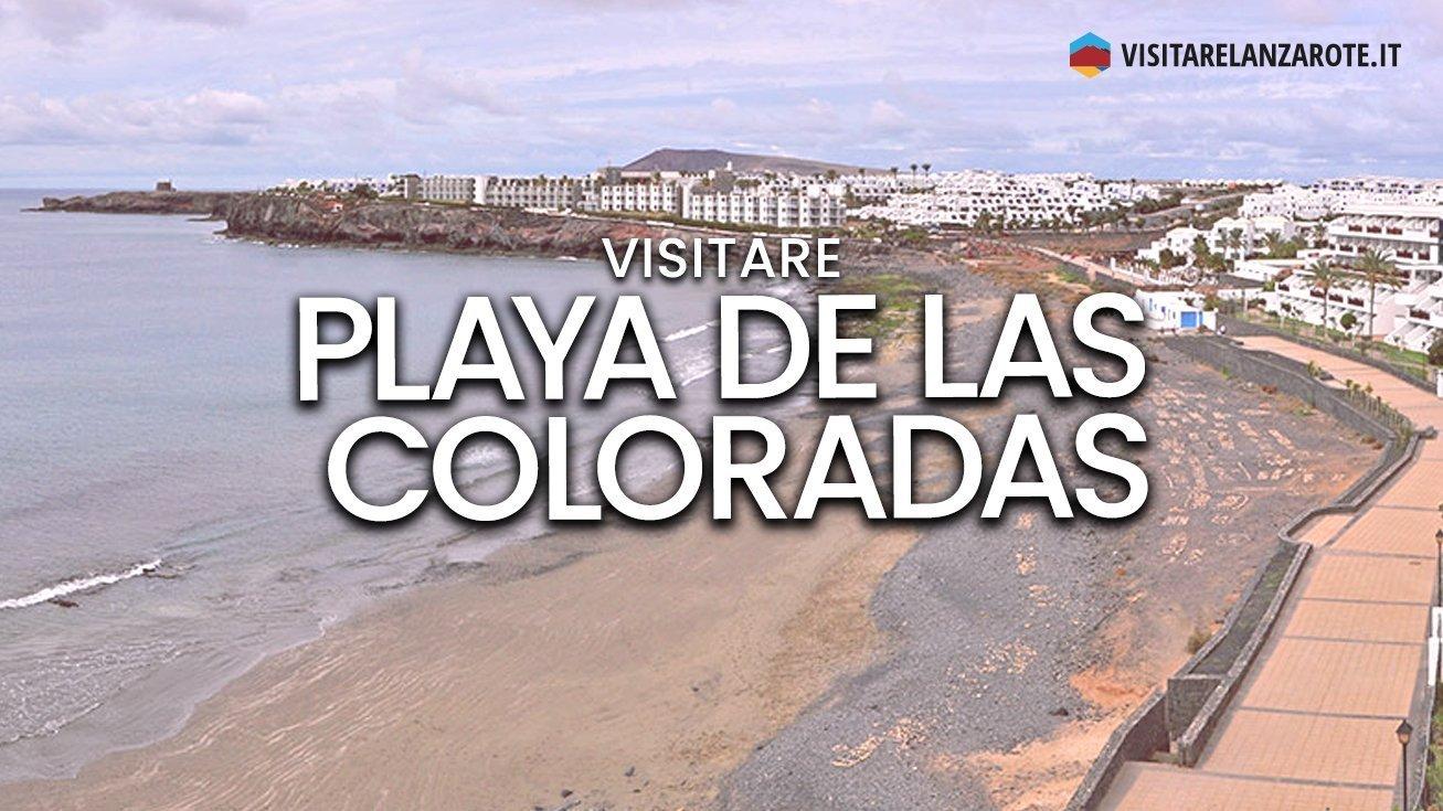 Playa de las Coloradas, Yaiza | Spiaggia dell'isola di Lanzarote