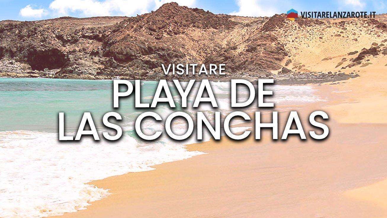 Playa de las Conchas, Lanzarote | Spiaggia dell'isola La Graciosa