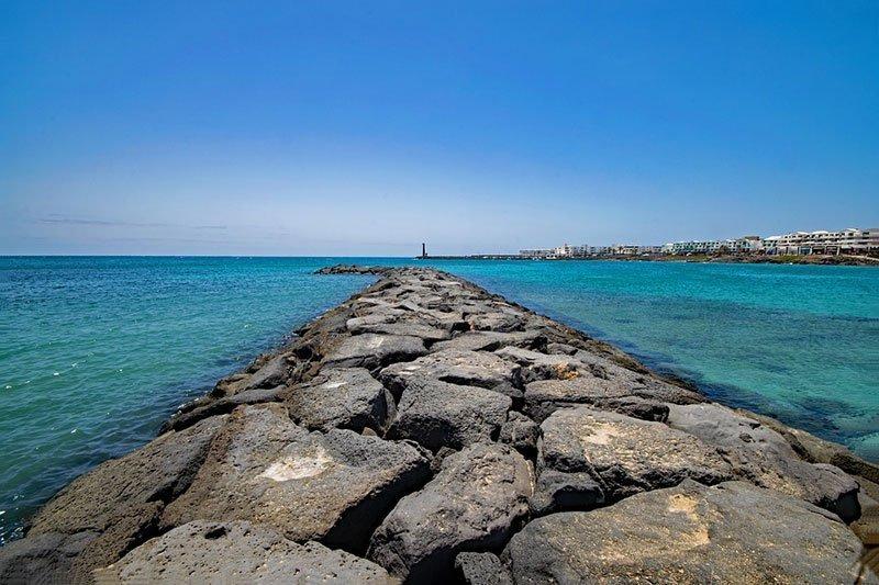 Playa las Cucharas Lanzarote