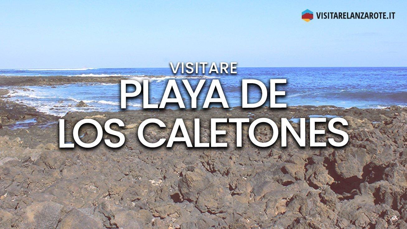 Playa de Los Caletones, Haría   Spiaggia dell'isola di Lanzarote
