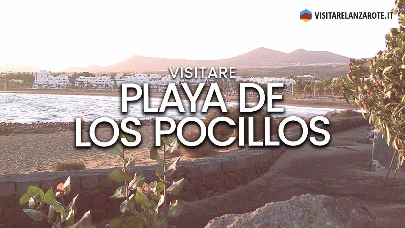 Playa de los Pocillos, Puerto del Carmen | Spiaggia dell'isola di Lanzarote