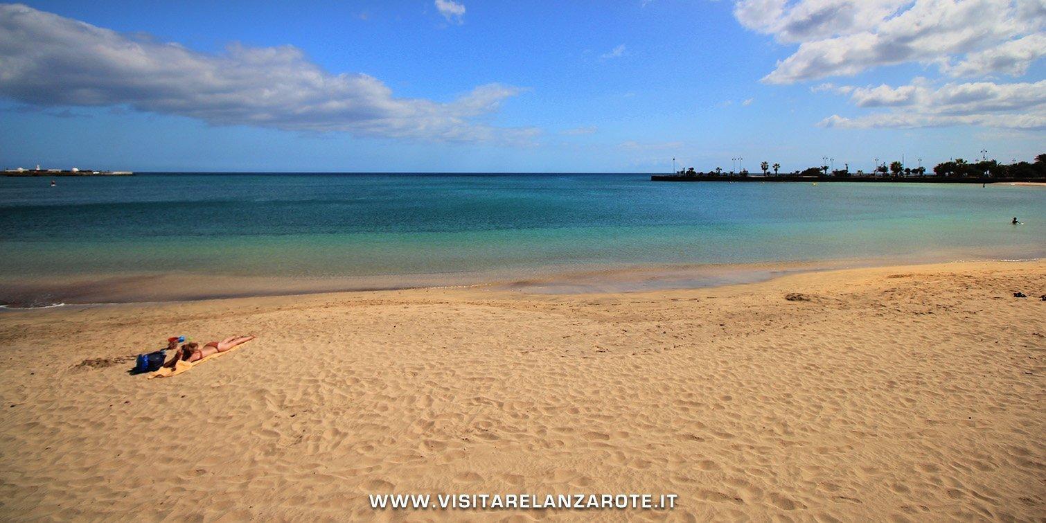 Playa del Cable Lanzarote