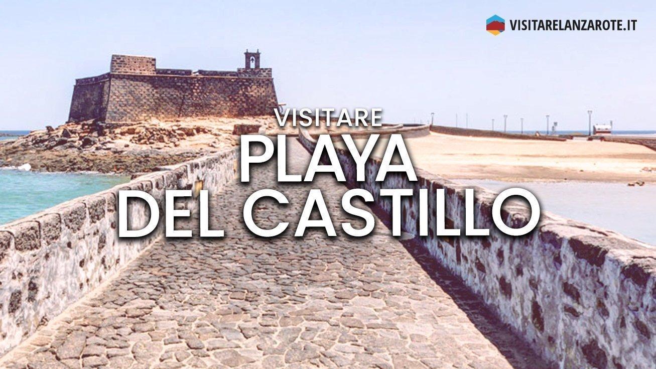 Playa del Castillo, Arrecife | Spiaggia dell'isola di Lanzarote