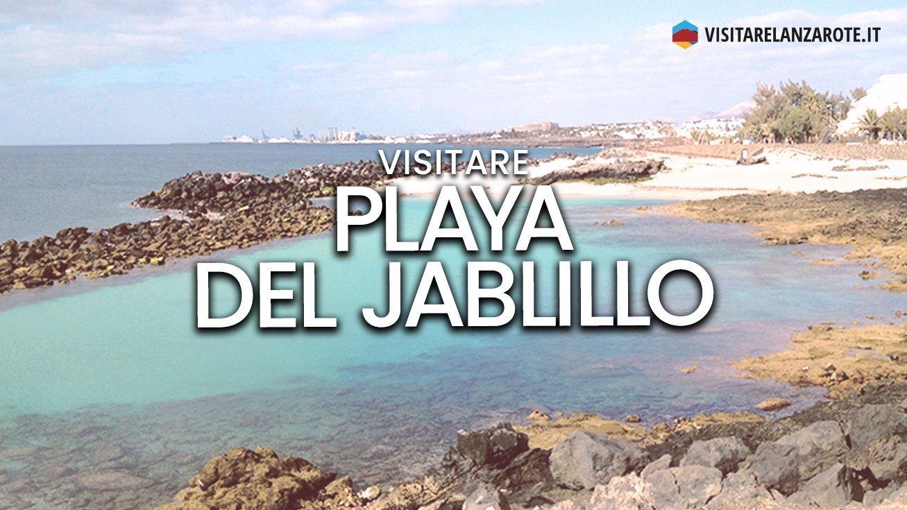 Playa del Jablillo, Costa Teguise   Spiaggia dell'isola di Lanzarote