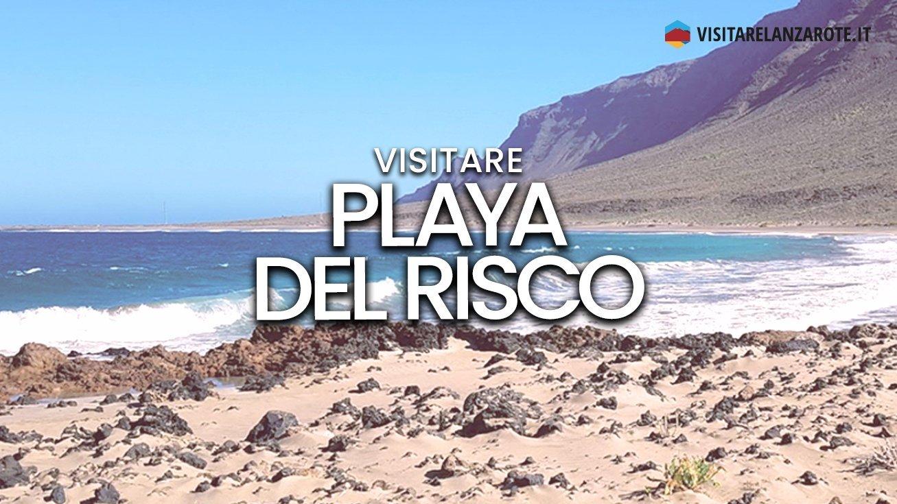 Playa del Risco, Haría   Spiaggia solitaria dell'isola di Lanzarote
