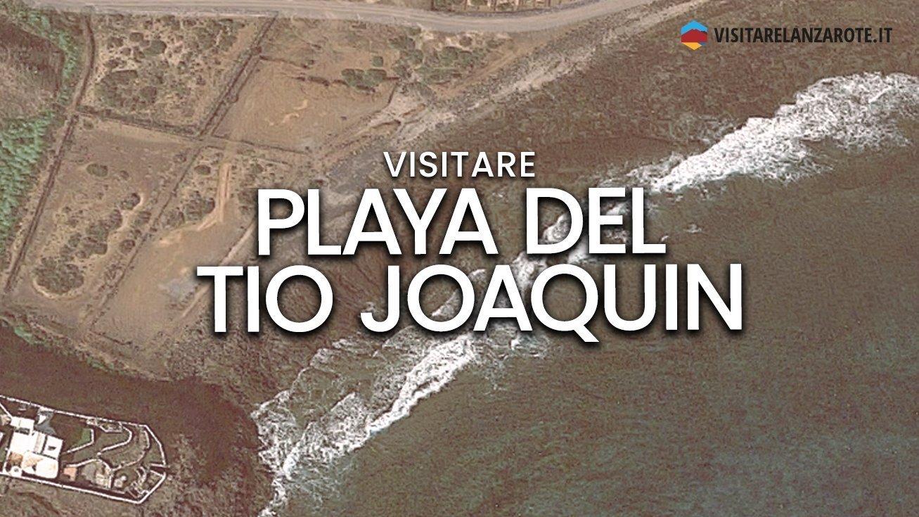 Playa de Tio Joaquin, Costa Teguise   Spiaggia dell'isola di Lanzarote