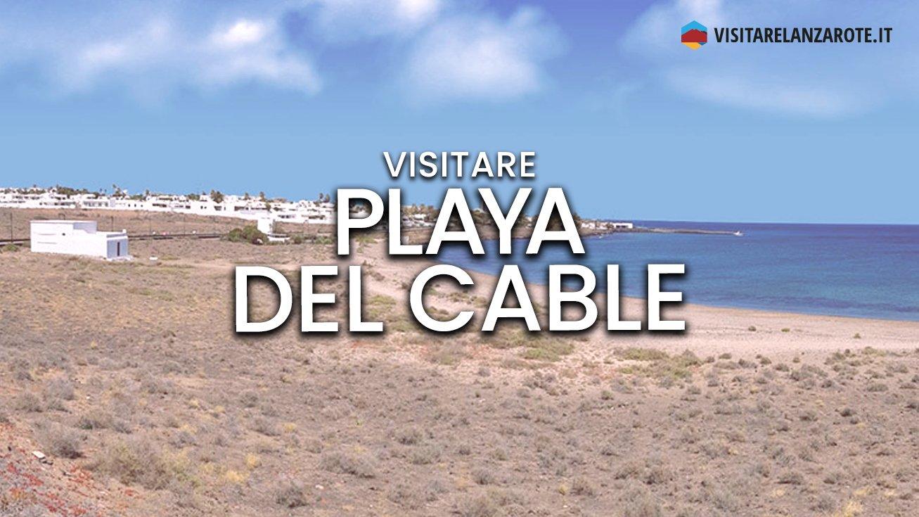 Playa del Cable, Arrecife   Spiaggia dell'isola di Lanzarote
