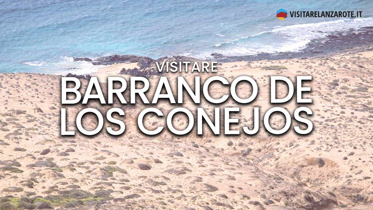 Barranco De Los Conejos, Lanzarote   Spiaggia dell'isola de La Graciosa