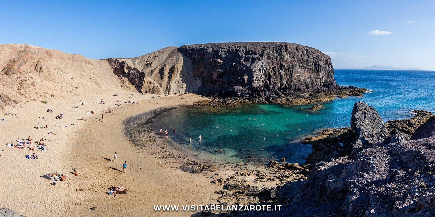 Playa de Papagayo lanzarote