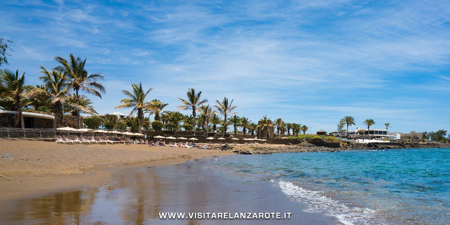 Playa Bastián lanzarote