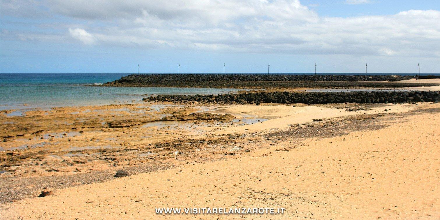 Playa Los Charcos lanzarote