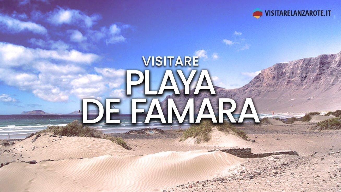 Playa de Famara, Teguise | Spiaggia dell'isola di Lanzarote