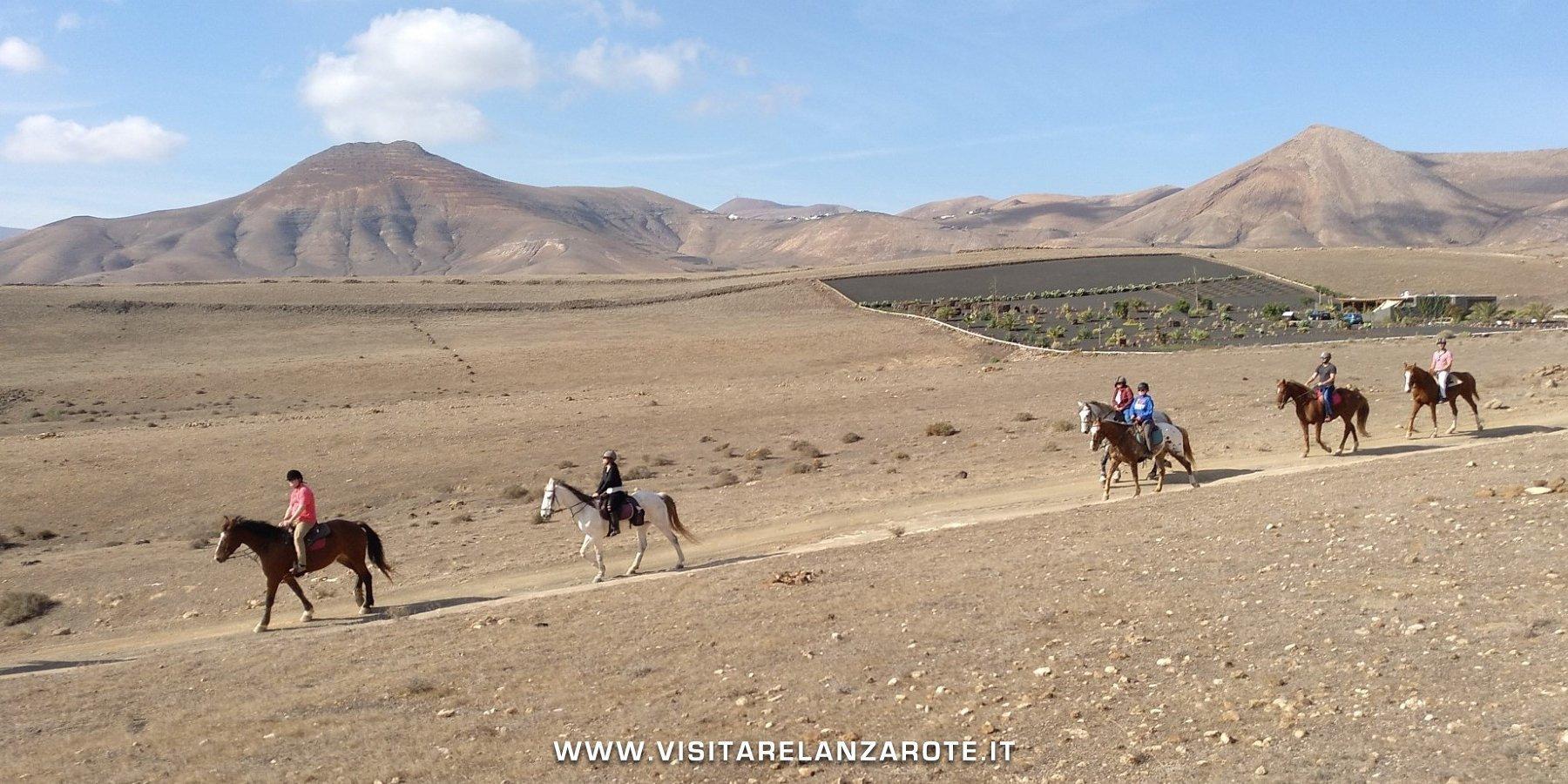 Lanzarote a Caballo Lanzarote
