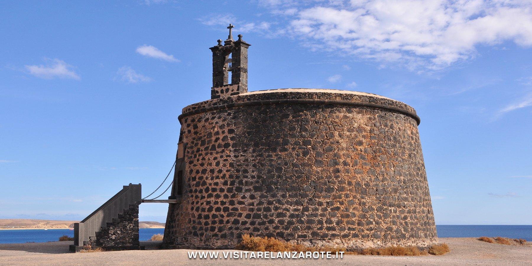 castillo del aguila las coloradas Lanzarote