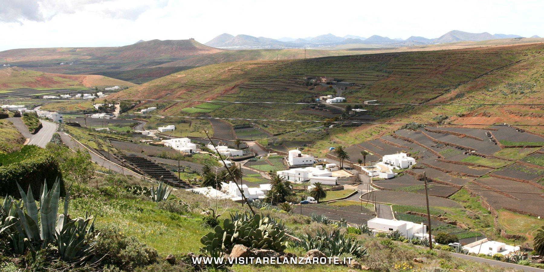los valles Lanzarote