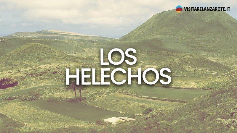 Los Helechos, i vulcani gemelli di Lanzarote   Visitare Lanzarote