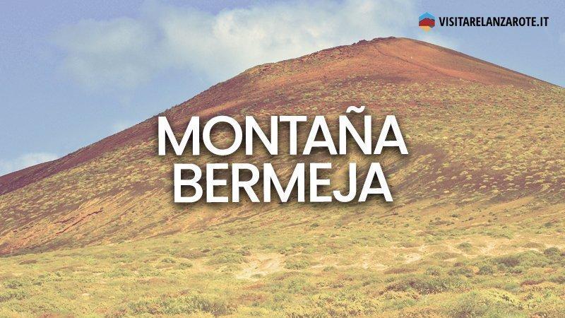 Montaña Bermeja, il vulcano scarlatto de La Graciosa | Visitare Lanzarote
