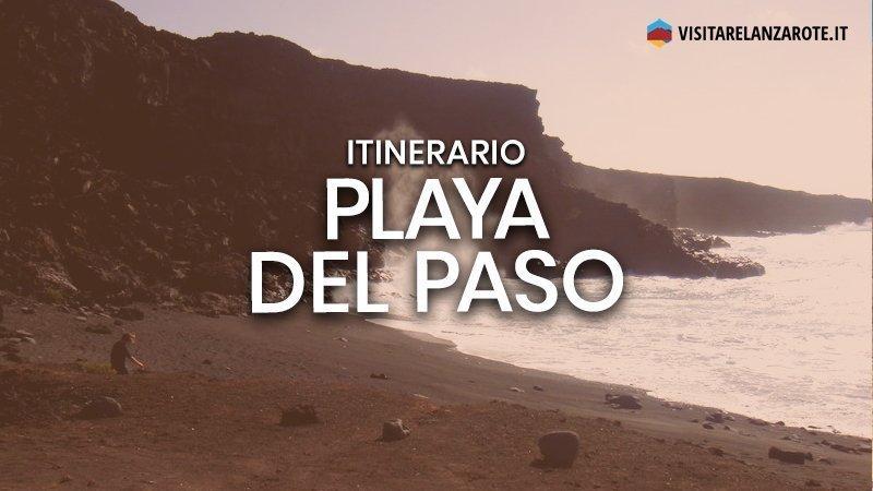 Itinerario El Golfo - Playa del Paso   Visitare Lanzarote