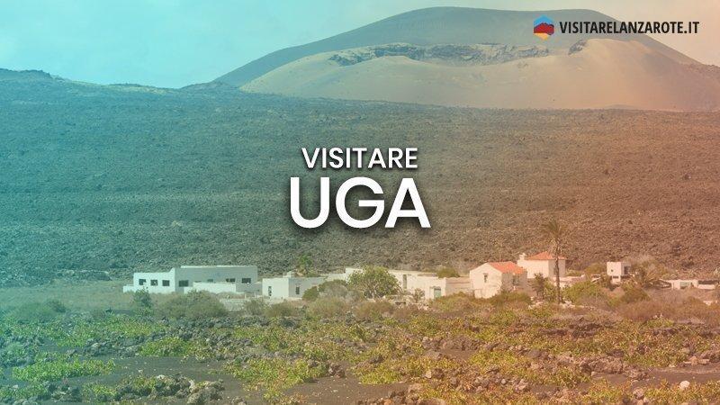 Uga, un centro urbano lungo la strada del vino