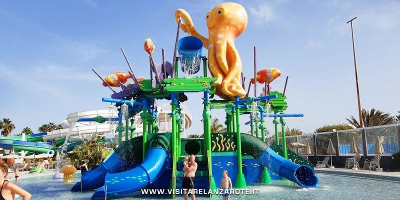 Aqualava Waterpark Lanzarote