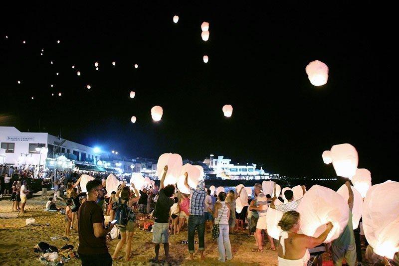 Playa Blanca vita notturna