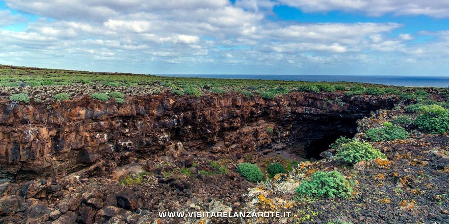 Tunnel vulcanico dei Jameos Lanzarote