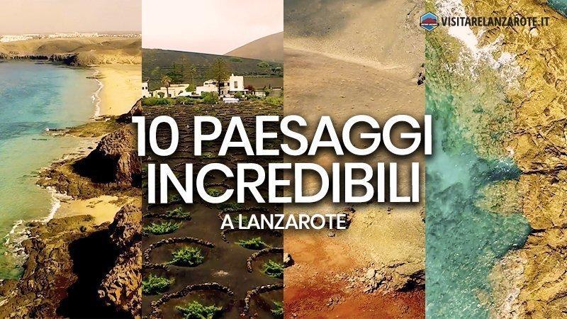 Lanzarote: i 10 paesaggi più spettacolari dell'isola | Visitare Lanzarote